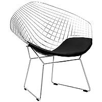 Poly and Bark Bertoia 风格钻石椅