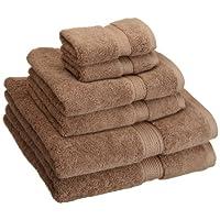 Superior 900克埃及棉6件毛巾套件 拿铁棕