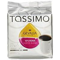 Gevalia 15% 混合科纳咖啡,深度烘培,适用于 Tassimo 咖啡机的 T-Disc 胶囊,16 个