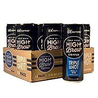 高釀酒冷釀咖啡香草豆三瓶裝,11 盎司(約 29.6 毫升)罐裝(12 支)