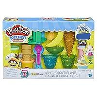 Hasbro 孩之宝 Play-Doh 培乐多 冰淇淋派对面团艺术(亚马逊发售) 3 岁以上儿童标准 气球模型131 棕色