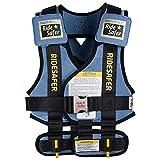 美国艾适RideSafer3穿戴式汽车儿童安全座椅便携背心适于3-6岁(体重15kg-25kg)(美国进口,通过美国FMVSS213认证,便携式,旅游可携带)小号蓝色