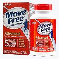 Schiff move free旭福维骨力氨糖软骨素红瓶经典版 170粒/瓶 (美国品牌) 包税包邮