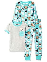 spotted Zebra 女童3件套睡衣