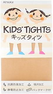 (厚木) ATSUGI 儿童连裤袜 【日本制】 KID'S TIGHTS(儿童连裤袜) 50D 连裤袜〈3双装〉 米色 日本 110~130cm-(日本サイズ120 相当)
