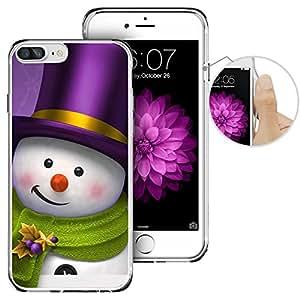 iPhone 7Plus 手机壳, Apple 7Plus 手机壳, laaco 美丽透明 TPU 手机壳橡胶硅胶 iphone 7Plus–复古航海地图 Christmas (14)