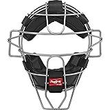 Rawlings 轻质镂空线Umpire 面罩,黑色,成人