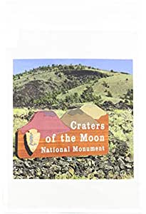 danita delimont–爱达荷–craters OF THE MOON 国家公园,爱达荷–us13dfr0374–David R. frazier–旗帜 12 x 18 inch Garden Flag