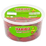 Haribo 大号草莓散装糖果,1 公斤