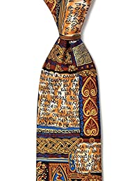 誓言 OF HIPPOCRATES 米色丝绸领带