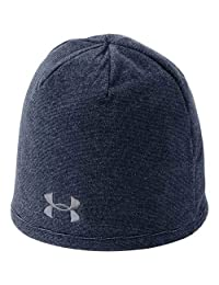 Under Armour Men's Survivor Fleece Beanie, Academy/Steel, One Size