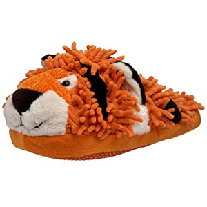 Fuzzy Friends Women's Tiger Slipper