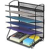 6 托盘桌面文件托盘收纳袋 黑色