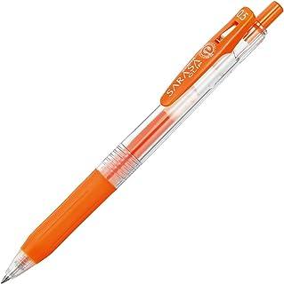 斑马 凝胶圆珠笔 SARASA CLIP 0.5 彩色 红橙 10只