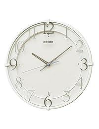 SEIKO CLOCK (セイコークロック) 掛け時計 電波 アナログ 白 KX215W