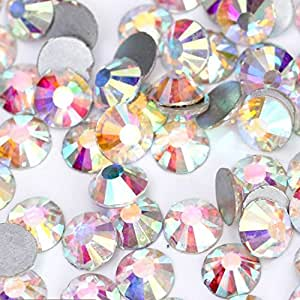 水晶 AB/Crystal FlatBack 玻璃水钻胶状修饰 Crystal Ab ss16 (4mm) 1440 pcs 2088