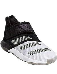 adidas 阿迪达斯儿童 Harden B-E 3 男孩篮球白色/发光*/灰色 Four 7 大童