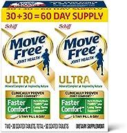 Move Free 益节 Ultra Faster Comfort 关节滋补片 基于钙&果糖硼酸钙,(一瓶60粒),每天经证明服用一小片(包装可能有