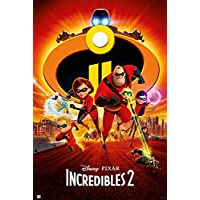 The Increibles 2 张纸海报