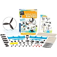 Geek & Co. Science Rubber Band Racers Kit