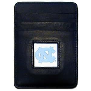 NCAA 北卡罗来纳州皮质钱夹/卡夹钱包