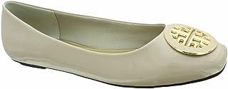 Pierre Dumas Moni-29 女士休闲芭蕾平底鞋 Nude Patent 6.5 M US