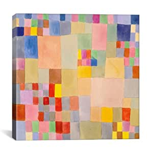 """icanvasart 1358–1pc3–50.80cm x FLORA ON THE Sand Paul klee """" 印花"""