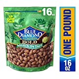 Blue Diamond Almonds 大胆的芥末酱油味, 16 Ounce/454g