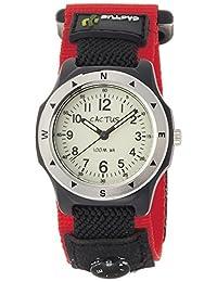 [CACTUS]CACTUS 兒童手表 蓄光表盤 10氣壓防水 附帶簡單指南針 CAC-65-M07 男孩