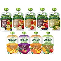 Sprout Organic Stage 4 Toddler Food, Power Pak & Veggie Variety Sampler, 4 Oz (Pack Of 12), 12Count