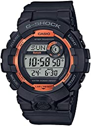 Casio 卡西欧 G-Shock Digital Power Trainer Connect 黑色树脂手表 GBD800SF-1