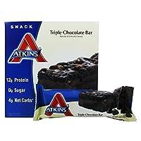 Atkins Nutritionals Inc. (阿特金斯) - 好处小吃店三倍巧克力 - 5 条