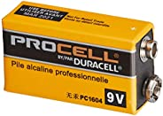 [DURACELL金霸王]PROCELL DURACELL 9V方形电池 操作器/乐器用碱性电池DP-9V-1pcs  1個