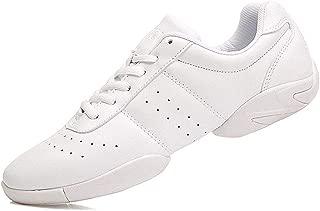 Smapavic Cheer Shoes 女式啦啦队舞鞋 时尚运动鞋 运动训练 系带鞋 适合吉尔斯