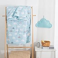 莱朗家纺 全棉印花夏被 高品质空调被夏凉被 单双人可水洗夏天被子 舒适透气 (200*230cm)