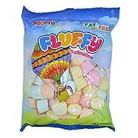 SUCERE 大心型甜瓜味棉花糖 250克(菲律宾进口)