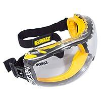 DEWALT DPG82-11 Concealer Anti-Fog Dual Mold Safety Goggle, Clear Lens