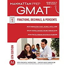 GMAT Fractions, Decimals, & Percents (Manhattan Prep GMAT Strategy Guides Book 1) (English Edition)