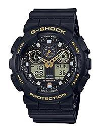 Casio 卡西欧 G-Shock GA-100GBX-1A9ER 男士手表 树脂,黄色