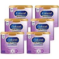 Enfamil 美贊臣 NeuroPro Gentlease 1段 0-12個月 適度半水解 嬰兒配方奶粉 567g/罐 6罐裝 防脹氣配方