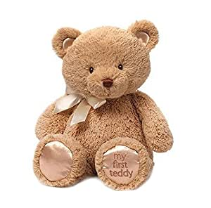 Gund My First Teddy Bear婴儿毛绒玩具熊 15英寸