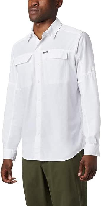 Columbia Men's Silver Ridge 2.0 Long Sleeve Shirt, UV Sun Protection, Moisture Wicking Fabric