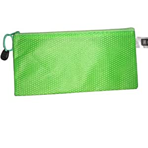 易利港丰-拉链袋A6绿色(10/包)