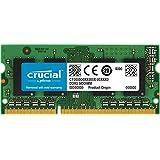 Lexar CRUCIAL 8GB 套装 (4gbx2) DDR 31600mt/s (PC 3–12800) 204-pin 1.35V v/1.5V sodimm MEMORY ct2K4g3s160bjm 4GB