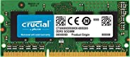 Crucial 2GB Single DDR3 1600 MT/s (PC3-12800) CL11 SODIMM 204-Pin 1.35V/1.5V Notebook Memory Module CT25664BF1