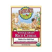 (跨境自营)(包税) Earth's Best 有机纯米粉 227g(6-36个月) (产地美国或德国,包装随机发货)