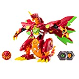 Bakugan,Dragonoid Maximus 8 英寸变形公仔,带灯光和声音,适合 6 岁及以上儿童