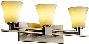 Justice Design Group CLD-8703-28-DBRZ 云系列 Aero 2 灯浴杆灯具