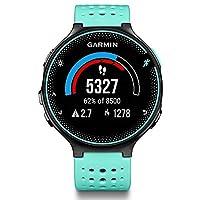 GARMIN 佳明 Forerunner235 光电心率GPS运动跑步腕表 户外智能骑行手表(双星系统 跑步骑行运动模式 7X24H心率记录 心率区间/警示 高分辨率大屏 智能通知 日常活动监测 语音提示)