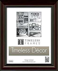 """Timeless Expressions 78161 Roma Picture Frame, 11"""" x 14"""", Walnut"""